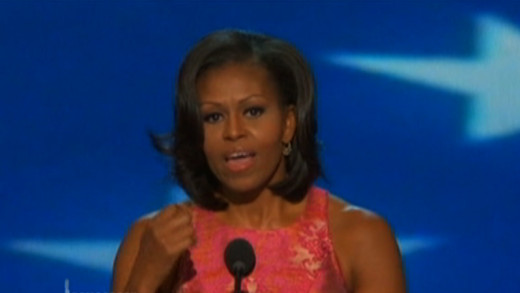The First Lady Gave an inspiring speech that let the World Know Democrats were ready to fight.