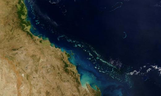 Great Barrier Reef Australia - NASA Image