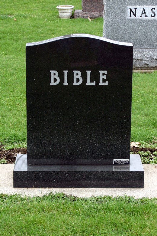 Is the word of God dead and buried while we are at work?