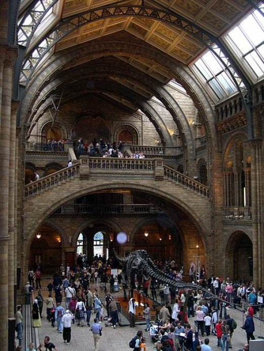 The Natural History Museum - Main Entrance.