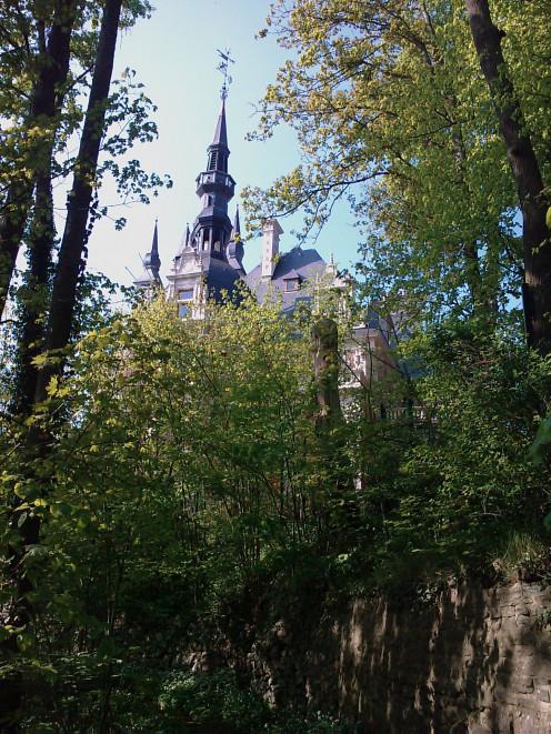 Château Le Fy, overlooking Esneux
