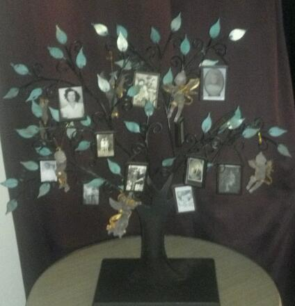 Here is my family photo tree.  I adore it!