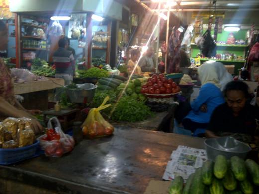 Veggie sellers .