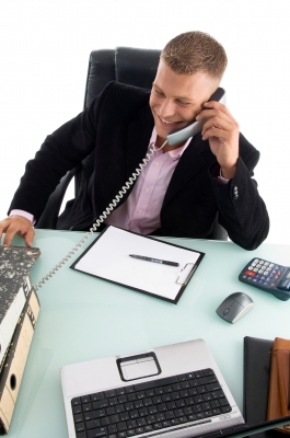Respond to emails, office chat and return phone calls