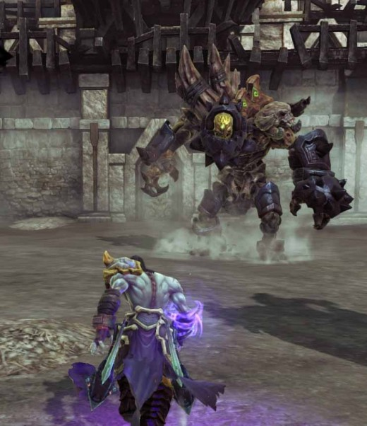Darksiders 2 Defeating Gnashor takes time, skills and patience.