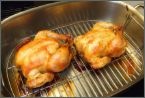 Herbs and White Wine Infused Cornish Hens