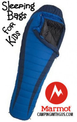 Kid's sleeping bags for camping