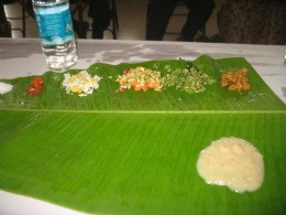 THIS ALSO GOES ON THE TOP OF THE PLANTAIN LEAF ONLY