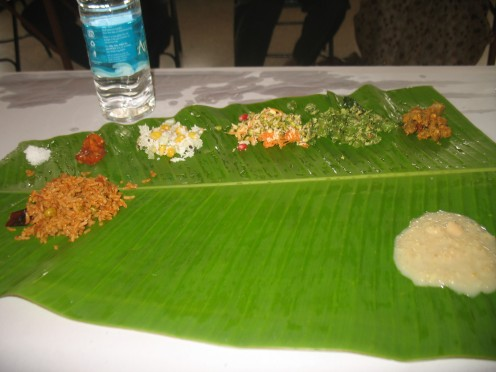 THIS ITEM MUST BE SERVED ON THE BOTTOM OF THE PLANTAIN LEAF ON THE LEFT SIDE ONLY