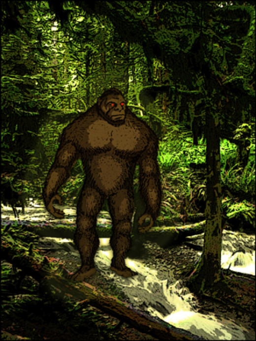 Bigfoot on the prowl