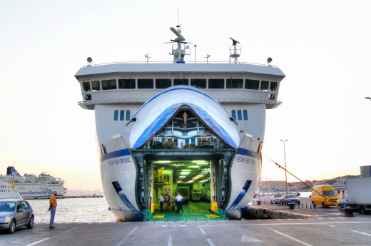 This large double decker car ferry is one of the best transport vessels between Split and the central Dalmatian islands, complete with coffee bar, dining rooms and mini playground.  The sundeck is filled with tourists in the summer.