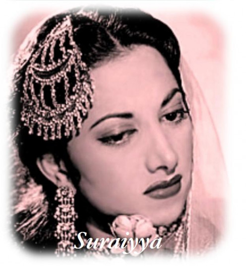Suraiyya - The first female star of Bollywood, who preceded both Madhubala and Lata Mangeshkar