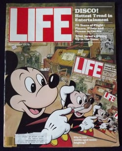 What was your most favorite issue of Life magazine?