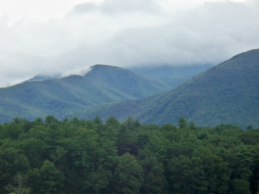 Beautiful Great Smoky Mountain National Park