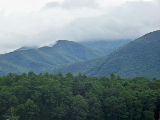 Beautiful Great Smoky Mountain National Park