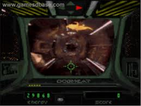 Sewer Shark came packed with the Sega CD and it was a fast paced futuristic video game that features full motion video the entire time.