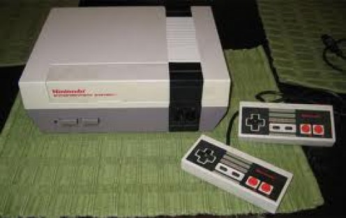 The Nintendo Entertainment System was the first home video game console by the Nintendo company and it was an 8 bit system.