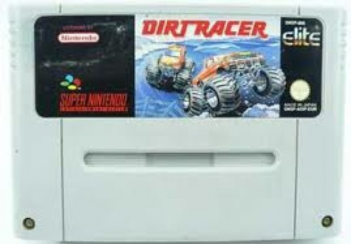 Dirt Racer the Video Game was one of the best selling games for the Super Nintendo. It features cars, trucks and motor cycles.