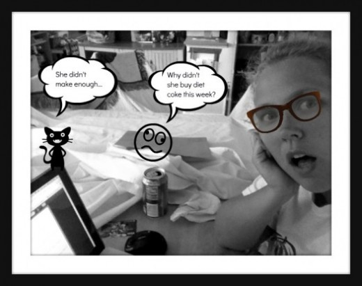 This is what happens when you don't develop a writing plan. You waste your time making stupid pictures with PicMonkey.