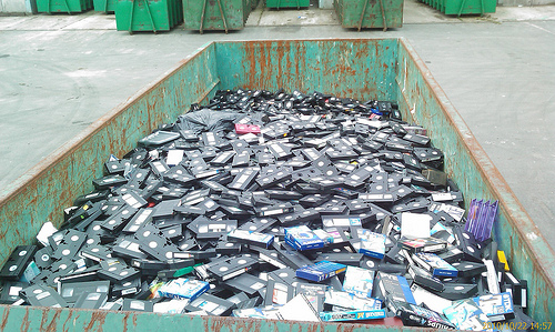 VHS tapes just aren't as popular anymore!