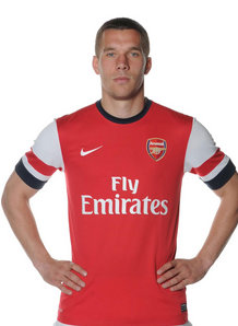 Experienced forward Podolski