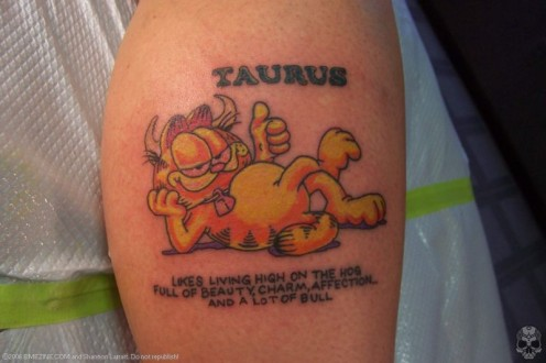 Taurus tattoo gallery