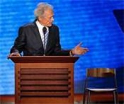 Clint, Clinton, an Empty Chair, and the Two Conventions