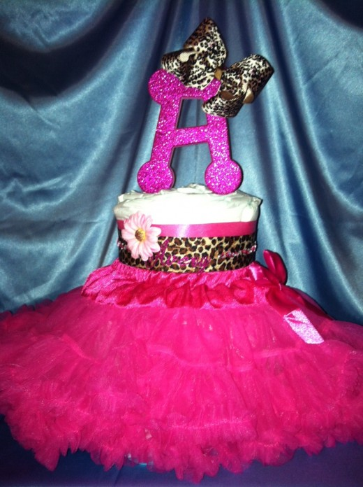 Personalized Rock Princess Cake