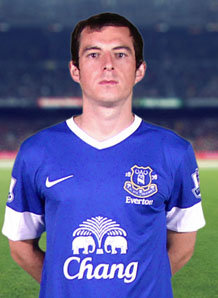 Attacking full-back Baines