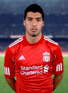 Controversial striker Suarez