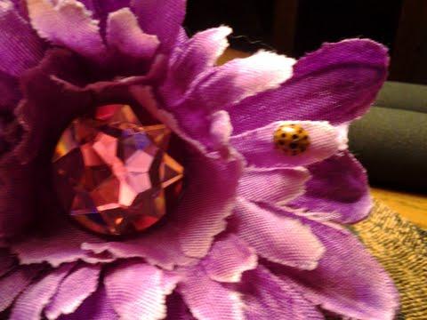 Ladybug on my flower pen
