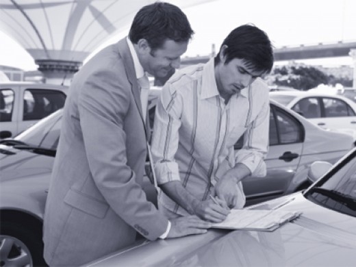 Don't do this! Car dealerships and used car lots are usually the absolute worst place to get an auto loan.