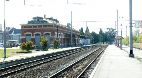 Quiévrain railroad station
