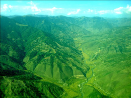 Mother earth: Aerial view of Sinja valley in Western Nepal
