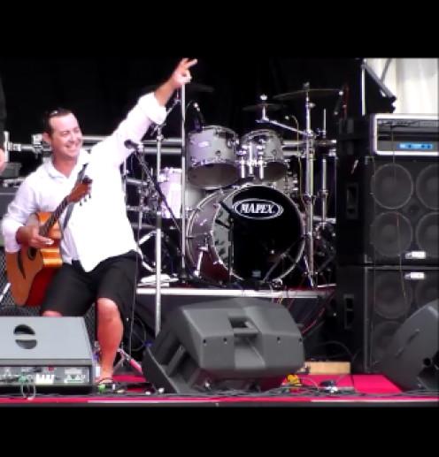 Corey Harris at the Whitsunday Reef Festival