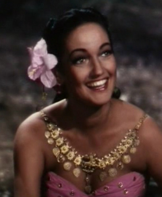 Dorothy Lamor and Hibiscus