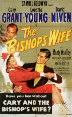 """The Bishop's Wife"" reproduction poster print."