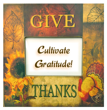 Thanksgiving--consider the concept, consider the attitude!