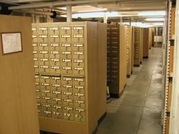 University of Michigan Library Card Catalogue