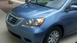 How to remedy the creaking in a Honda Odyssey side door.