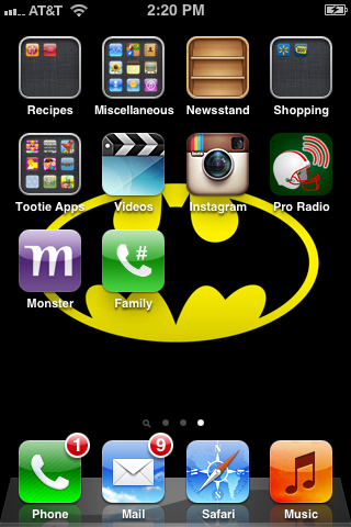 Tap the icon that's added to your desktop when you want to call that contact.