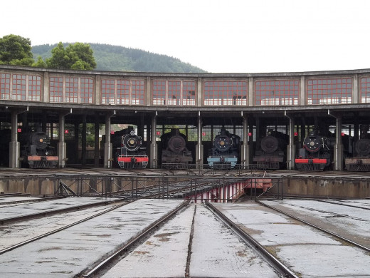 Temuco was an important railway junction, this Museum is a tribute to that role
