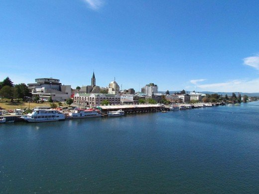 The Port of Valdivia, where the German influence is strong