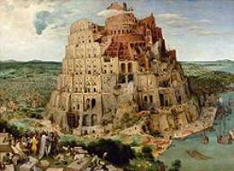 The Tower of Babel by Pieter Bruegel the Elder, 1563
