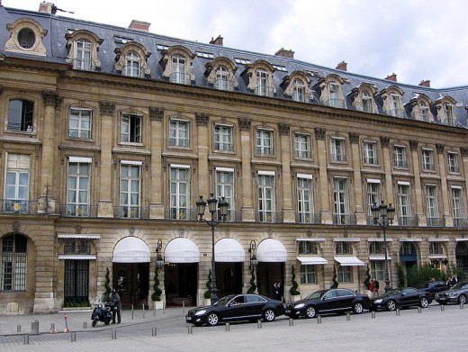 The Ritz in Paris