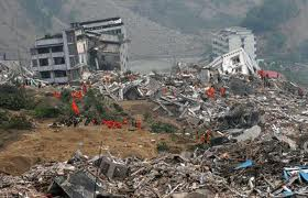 The devastation in China is difficult to recognize from photos but many have perished.