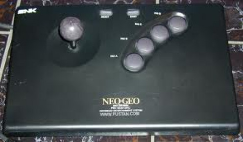 The NEO GEO Video Game console had lots of fighting games. Neo Geo's had four buttons at a time when the competition had only three button controllers.