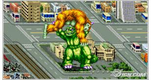 King of Monsters was an action video game for the Neo Geo game system. It was one of the console's best selling games.