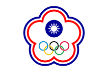 Flag Taiwan Uses to Compete in the Olympics as China-Taipei