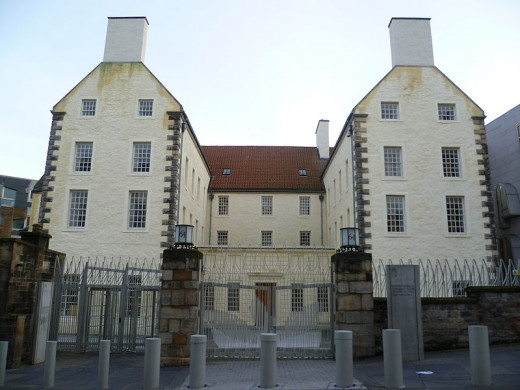 Queensberry house in the Royal Mile was home to dukes, murder and now ghosts
